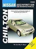 Nissan 350Z & Infiniti G35: 2003 thru 2008 (Chilton's Total Car Care Repair Manual)