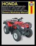 Honda Rancher, Recon & TRX250EX ATV's (Owners Workshop Manual)