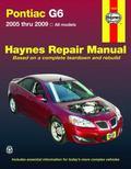 Pontiac G6 2005 thru 2009 (Haynes Repair Manual)