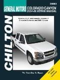 General Motors Colorado and Canyon--2004 Thru 2008