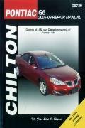 Pontiac G6--2005 thru 2009
