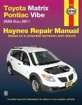 Toyota Matrix Automotive Repair Manual, 2003-2011