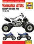 Yamaha Raptor 660 and 770 ATVs Service and Repair Manual : 2001-2012