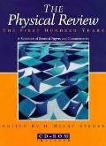 Physical Review The First Hundred Years  A Selection of Seminal Papers and Commentaries/Book...