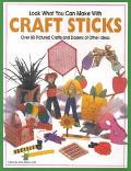 Look What You Can Make With Craft Sticks Over 80 Pictured Crafts and Dozens of Other Ideas