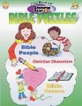 Best of Bible Puzzles: Grades 1-6