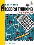 Beginning Algebra Thinking, Grades 5 to 6