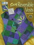 Easy Reversible Vests - Carol Doak - Paperback