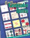 Easy Paper-Pieced Keepsake Quilts: 72 New Blocks Including the Alphabet!