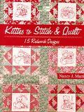 Kitties to Stitch and Quilt: 15 Redwork Designs with Other