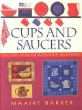 Cups and Saucers Paper-Pieced Kitchen Designs