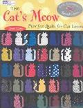Cat's Meow Purr-Fect Quilts for Cat Lovers
