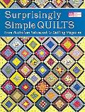 Surprisingly Simply Quilts From Australian Patchwork & Quilting Magazine