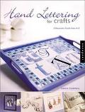 Hand Lettering for Crafts A Decorative Guide from A to Z