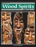 Carving Wood Spirits in Tree Bark Capturing Unique Faces & Expressions in Wood