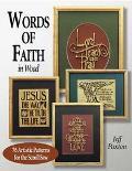 Words of Faith in Wood