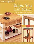 Tables You Can Make