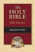 KJV Bible 1611 Edition Genuine Leather, Black