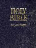 Holy Bible King James Version With Binder