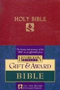 Holy Bible New Revised Standard Version, Gift & Award, Burgundy