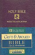 Holy Bible New Revised Standard Version With The Apocrypha Royal Purple Imitation Leather, G...