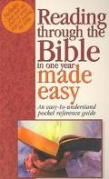 Reading Through the Bible in One Year Made Easy