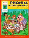 Phonics Puzzles & Games  A Workbook for Ages 4-6
