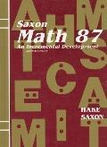 Saxon Math 8 7