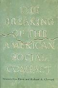 Breaking of the American Social Compact