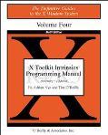 X Toolkit Intrinsics Programming Manual