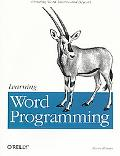 Learning Word Programming - Steven A. Roman - Paperback
