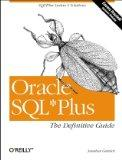 Oracle SQL*Plus: The Definitive Guide