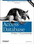 Access Database Design+programming