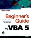Beginner's Guide to Vba 5
