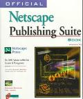 Official NetScape Publishing Suite Book - Richard Cravens - Paperback - BK&CD ROM