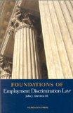Foundations of Employment Discrimination Law