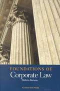 Foundations of Corporate Law