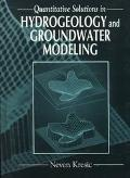 Quantitative Solutions in Hydrogeology and Groundwater Modeling