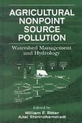 Agricultural Nonpoint Source Pollution Watershed Management and Hydrology