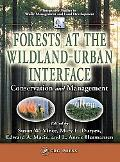 Forest at the Wildland-Urban Interface Conservation and Management
