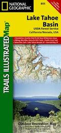 Lake Tahoe Basin - Trails Illustrated Map #803 (National Geographic Maps: Trails Illustrated)