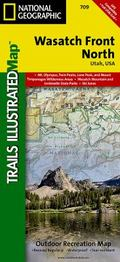 Wasatch Front North, Utah - Trails Illustrated Map # 709