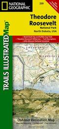 Theodore Roosevelt National Park : Trails Illustrated Map