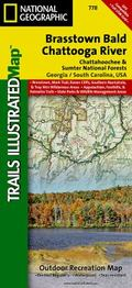Brasstown Bald / Chattooga River, Chattahoochee National Forest Trails Illustrated Map # 778