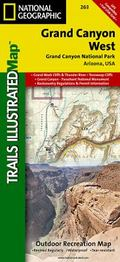 Grand Canyon West: Trails Illustrated - National Park Maps