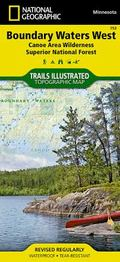 Boundary Waters Canoe Area-West : Trails Illustrated Map