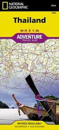 Thailand (National Geographic AdventureMap) (Adventure Map (Numbered))