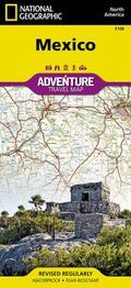 Mexico (National Geographic AdventureMap) (Adventure Map (Numbered))