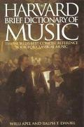 Harvard Brief Dictionary of Music Dictionary