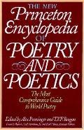 New Princeton Encyclopedia of Poetry and Poetics